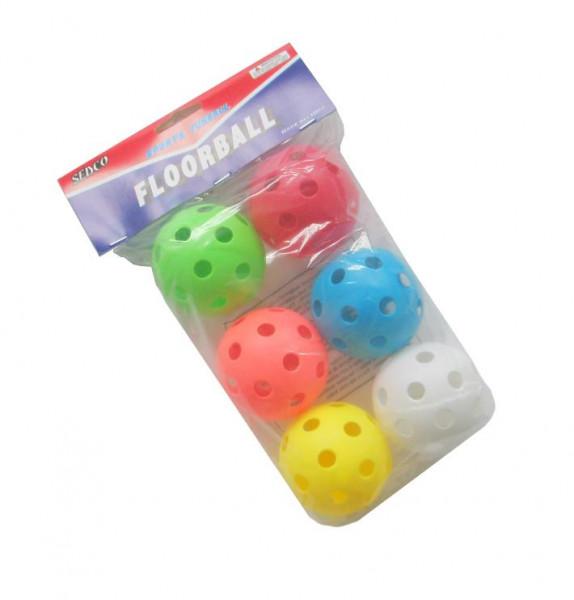 Florbalový míček SEDCO TRAINING 6ks