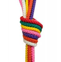 Gymnastické švihadlo 2,8 m SEDCO mix barev
