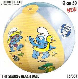 Nafukovací plážový míč MONDO ŠMOULOVÉ