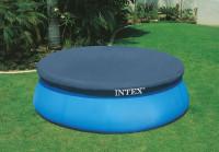 Bazénová plachta EASY Intex 28023 černá 457 cm