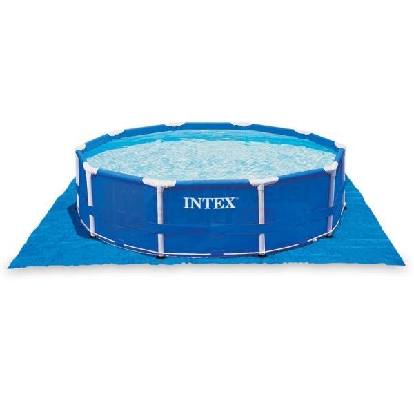 Plachta pod bazén Intex 28048 472 x 472 cm