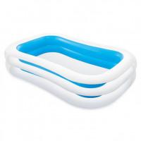 Bazén INTEX 56483 nafukovací FAMILY obdélník 262x175x56cm