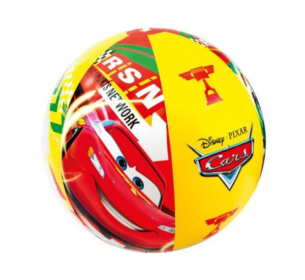 Nafukovací plážový míč barevný CARS
