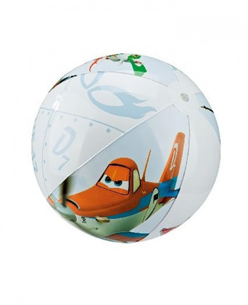 Nafukovací plážový míč INTEX barevný PLANES 500mm