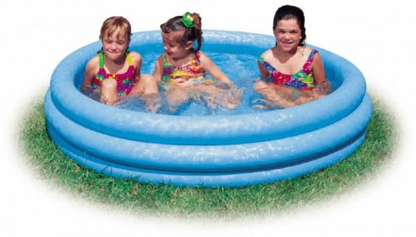 Bazén nafukovací bazén INTEX 58426 Crystal 147 x 33 cm modrý