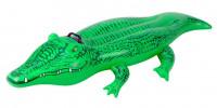 Plovoucí krokodýl Intex 58546 nafukovací zelený 168x86 cm