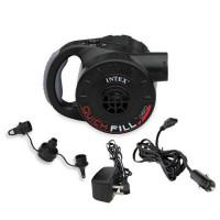 Elektrická pumpa nabíjecí Intex 66622 černá