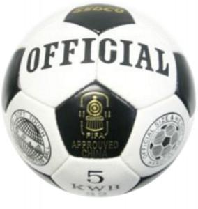 Fotbalový míč OFFICIAL SEDCO KWB32 - 5