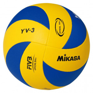 MIC VOLLEY MIKASA YOUTH YV-3 žluto/modrý