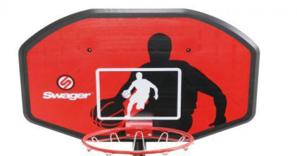 Panel na basket Spartan  + koš + síťka