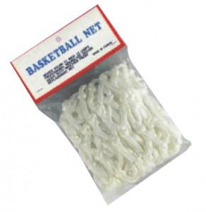 Síťka basketbalová  4012P bílá -1pár