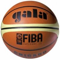 Míč basket CHICAGO BB7011S GALA hnědý velikost 7