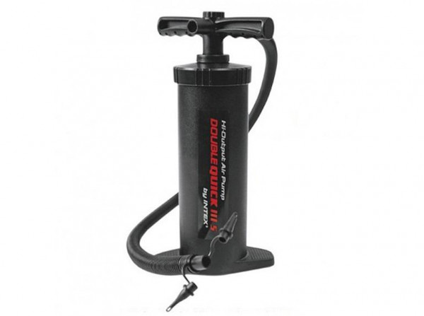 Ruční pumpa DOUBLE QUICK III S Intex černá