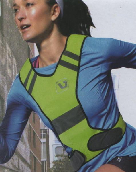 Reflexní vesta běh - kolo LivePro neon/žlutá