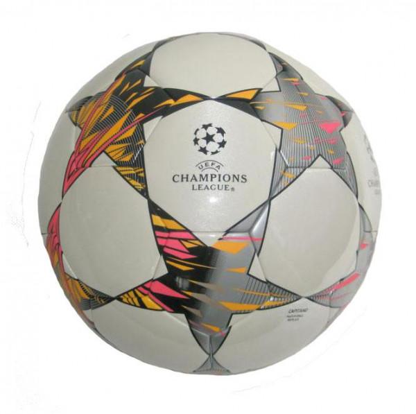 Fotbalový míč kopaná Sedco CAPITANO CHAMPIONS LEAGUE 93307 bílý
