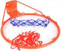 Koš na basket + síťka  1107 SPARTAN červený průměr koše 45 cm