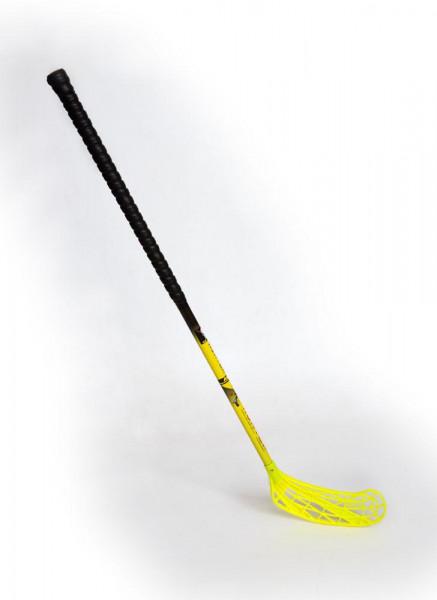 Florbal hůl HUNTER IFF 85 CM levá SPORT 2020 černo/žlutá