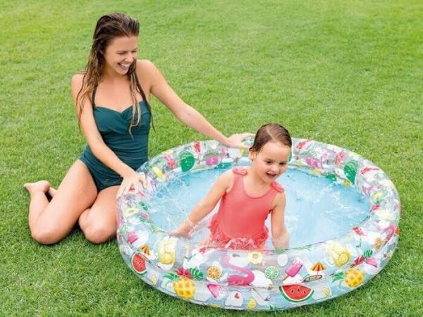 Bazén INTEX nafukovací dětský Ballons 122 x 25 cm