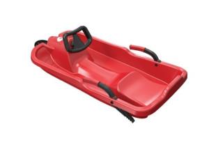 Boby říditelné Skibob SEDCO červené velikost 86 x 43 x 17 cm