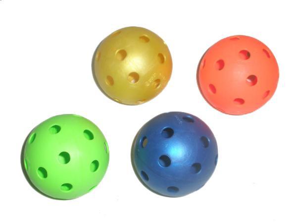 Florbalový míček UNIHOC barevný