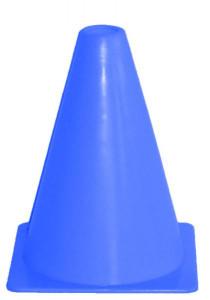 Kužely kopaná 18cm-modrá