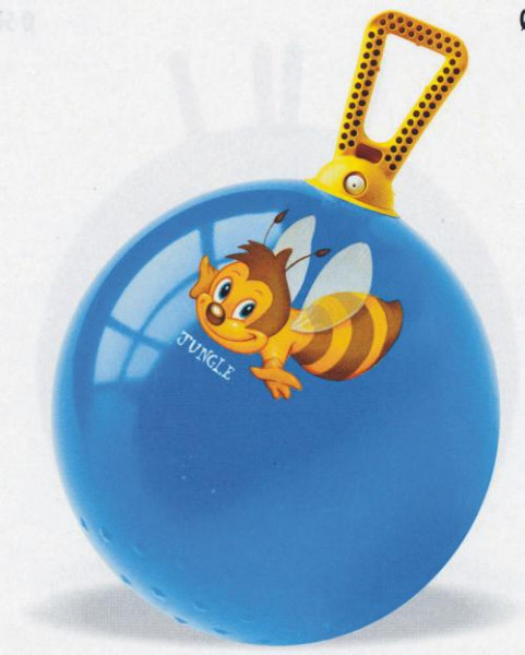 Skákací balón Mondo s držadlem 360 průměr 45 cm Gormiti
