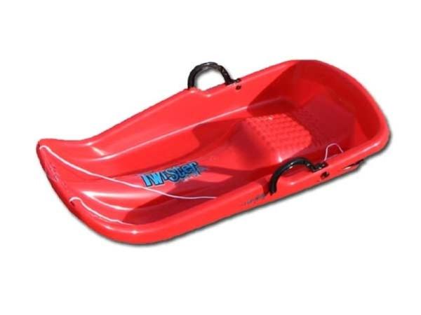 Boby TWISTER PLASTKON červená 80x40x16cm