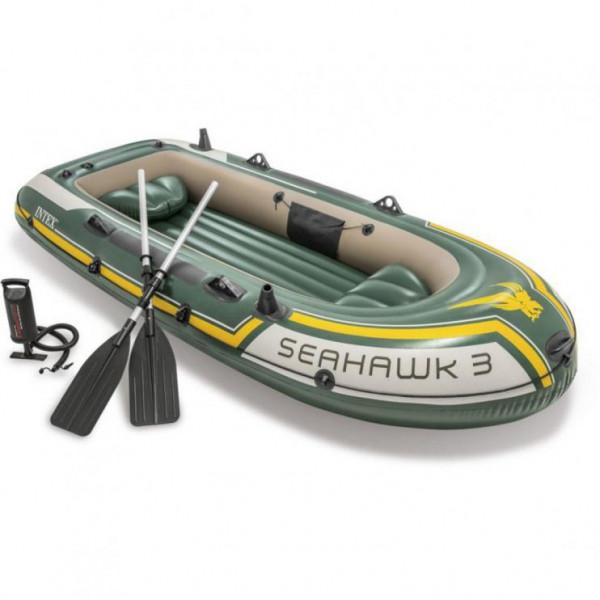 Nafukovací člun Intex 68380 Seahawk 3 Set 295x137x43 cm