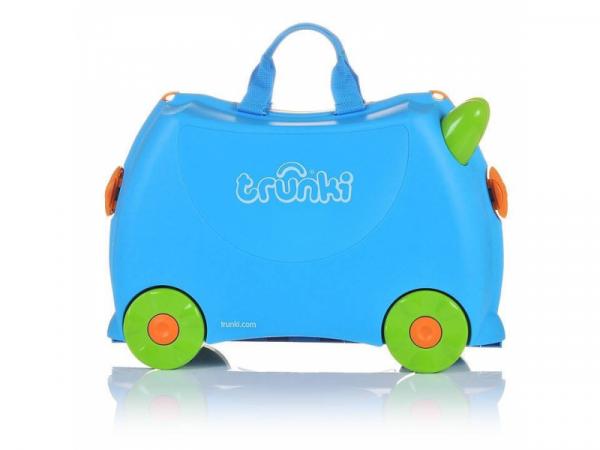 Kufřík + odrážedlo modrý Terrance