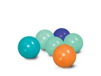 Míčky modré / oranžové 75 ks