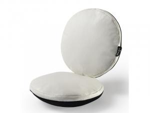 Sada sedacích polštářků do židličky Moon bílá