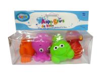 Hračky do vody mořské potvůrky 4ks