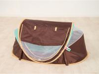 Stan pro miminko anti-UV Nomad hnědý