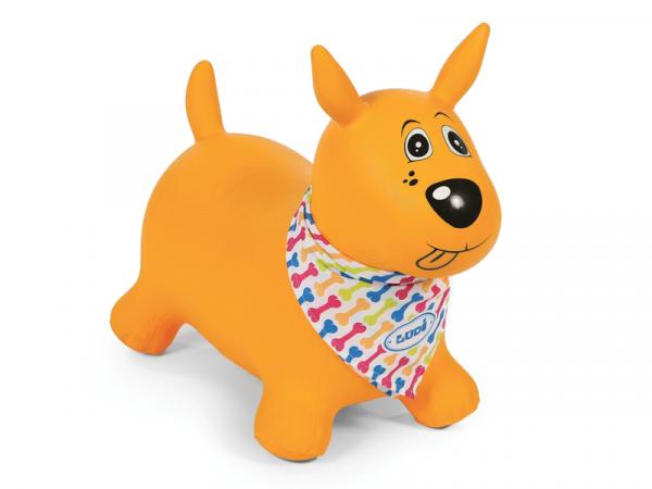 Skákací pes žlutý