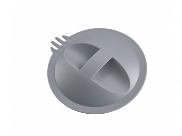 Parní vařič + mixér BABYCOOK šedý