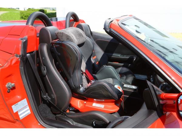 Autosedačka ISOFIX GLIDER CARBON (9-18) 2017 RACE RED
