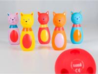 Bowling pro nejmenší Kočičky
