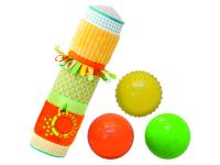 Senzorický válec s míčky
