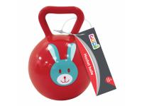 Chrastítko míček se zvířátkem