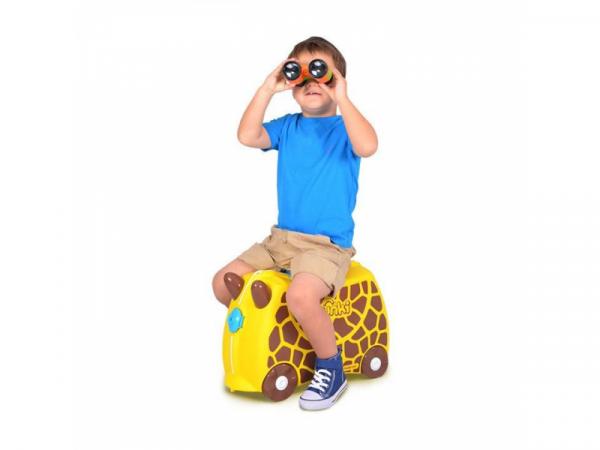 Kufřík + odrážedlo žirafka Gerry