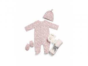 Dárková sada pro novorozence Bundle of Joy růžová