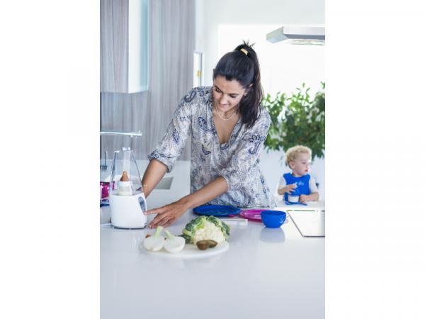 Ohřívačka kojeneckých lahví Warmy Advanced Silver
