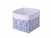 Textilní krabice modrá