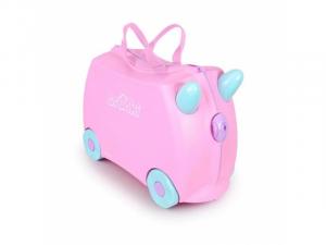 Kufřík + odrážedlo pastelová Rosie