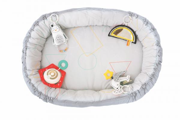 Hrací deka & hnízdo s hudbou pro novorozence