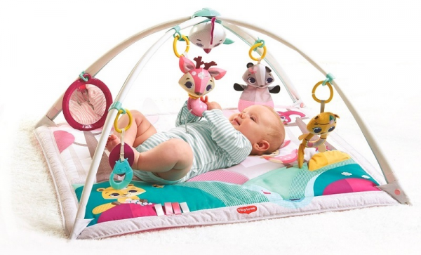 Hrací deka s hrazdou Gymini Tiny Princess Tales