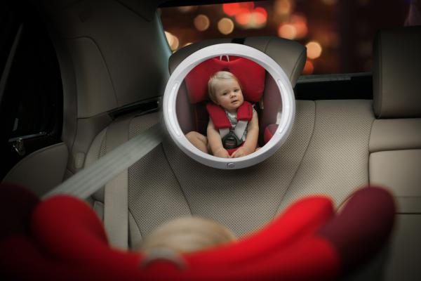 Zpětné zrcátko do auta Iris Ivory