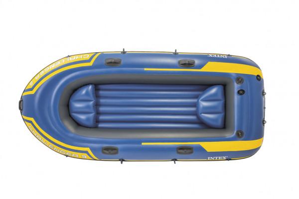 Člun pro 3 osoby + vesla a pumpa