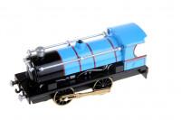 Kovová lokomotiva se světlem a zvukem