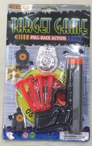 Policejní sada + 4x šipka